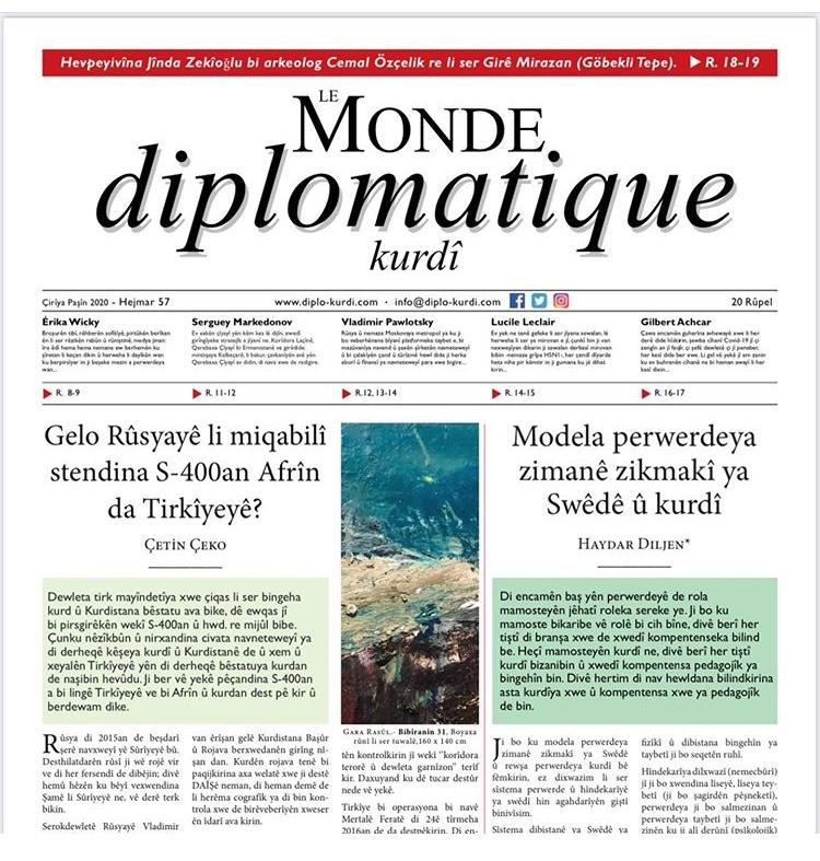 Hejmara 57an a Le Monde diplomatique kurdî derket!,hejmara,57an,a,le,monde,diplomatique,kurdî,derket