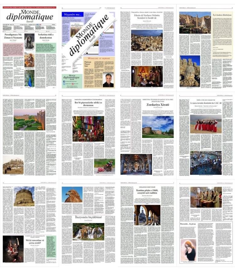 Hejmara 58an a Le Monde diplomatique kurdî derket!