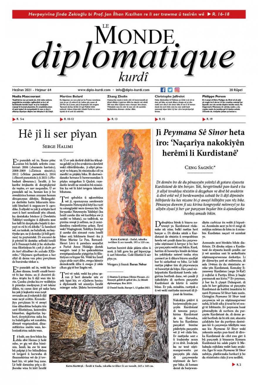 Hejmara 64an a Le Monde diplomatique kurdî derket!
