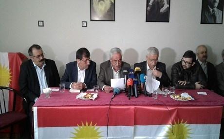 Partîyên Bakurê Kurdistanê li Amedê bangî piştgirîya Başûrê Kurdistanê kirin