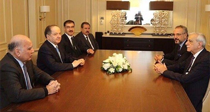 Mesûd Barzanî li Enqereyê ye