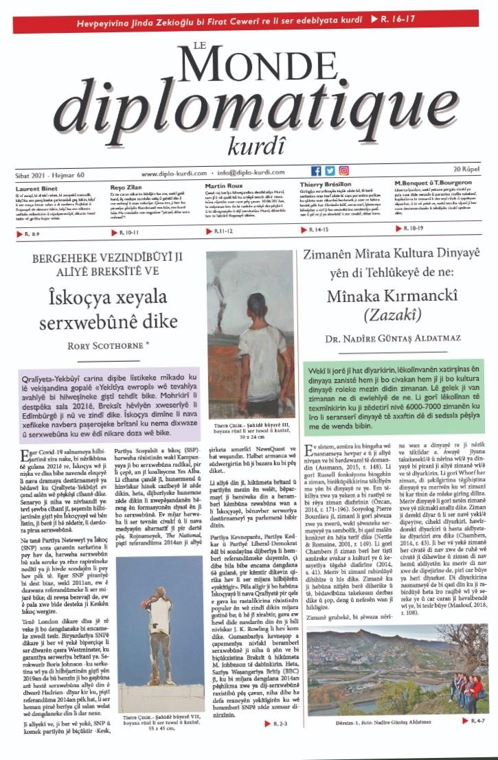 Hejmara 60î ya Le Monde diplomatique kurdî derket!