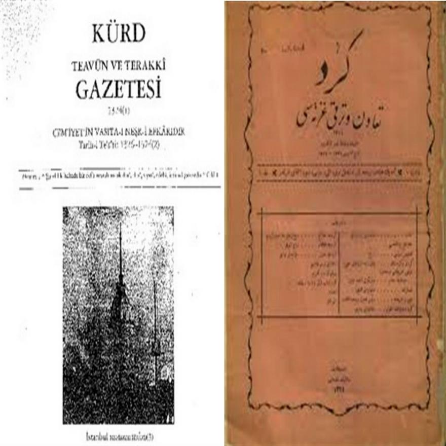 Kürt Teavün ve Terakki Gazetesi/Rojnameya Teawun û Terakîya Kurd,kürt,teavün,ve,terakki,gazetesi,rojnameya,teawun,û,terakîya,kurd