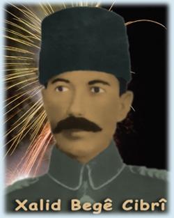 Serokê Komîteya Îstîklala Kurdistanê (Azadî) Mîralay Xalit Begê Cibrî