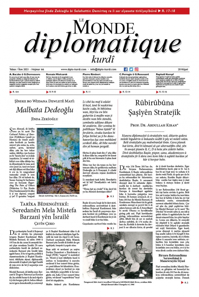 Hejmara 66an a Le Monde diplomatique kurdî derket!