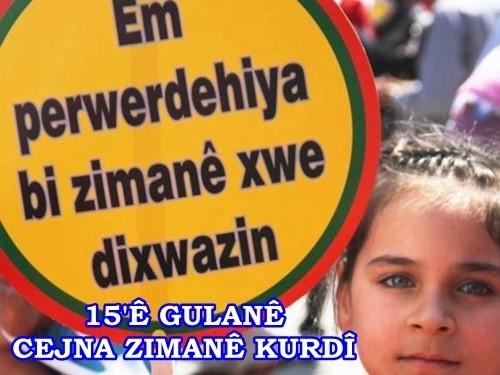Çîroka Cejna Zimanê Kurdî