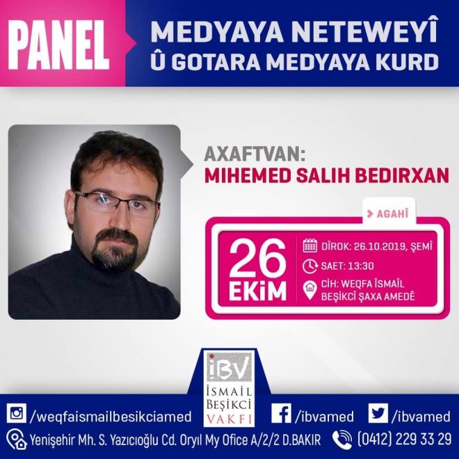 Medyaya Neteweyî û Gotara Medyaya Kurd