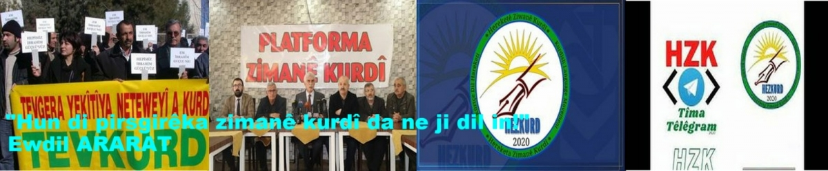 Hun di pirsgirêka zimanê kurdî da ne ji dil in!